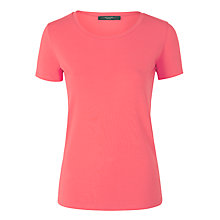 Buy Weekend by MaxMara Multia Jersey Top, Shocking Pink Online at johnlewis.com