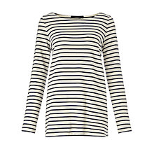 Buy Weekend by MaxMara Valanga Stripe Jersey Top Online at johnlewis.com