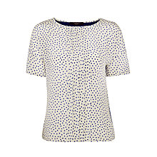 Buy Weekend by MaxMara Omelia Polka Dot T-Shirt, Cornflower Online at johnlewis.com