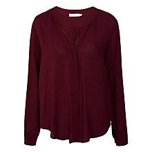 Buy Velvet Kinzly Challis Pintuck Blouse Online at johnlewis.com