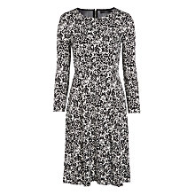 Buy Weekend by MaxMara Blasy Printed Jersey Dress, Black Online at johnlewis.com