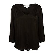 Buy Velvet Traze Satin Blouse Online at johnlewis.com