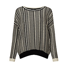 Buy Weekend MaxMara Armanda Jumper, Black Online at johnlewis.com