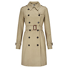 Buy Weekend by MaxMara Victor Trench Coat, Camel Online at johnlewis.com
