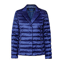 Buy Weekend by MaxMara Chiara Quilted Jacket, Cornflower Online at johnlewis.com
