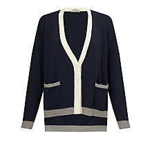 Buy Weekend by MaxMara Kali College Cardigan, Ultramarine Online at johnlewis.com