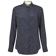 Buy Weekend by MaxMara Palco Spot Shirt, Navy Online at johnlewis.com