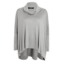 Buy Weekend MaxMara Calmo Jumper, Light Grey Online at johnlewis.com