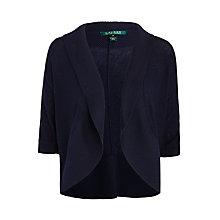 Buy Lauren Ralph Lauren Telana Elbow Sleeve Shrug, Capri Navy Online at johnlewis.com