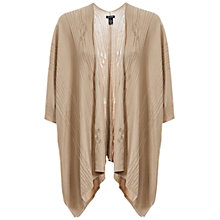 Buy Max Studio Cape-Style Cardigan, Taupe Online at johnlewis.com