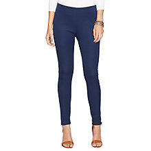 Buy Lauren Ralph Lauren Akoleta Leggings, Capri Navy Online at johnlewis.com
