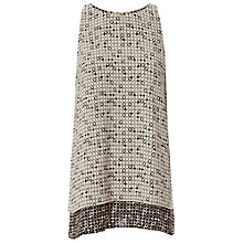 Buy Max Studio Double Layer Printed Top, Ivory/Black Online at johnlewis.com