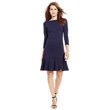 Buy Lauren Ralph Lauren Belinza Dress, Capri Navy Online at johnlewis.com