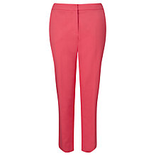 Buy Weekend MaxMara Klausen Cropped Trousers, Shocking Pink Online at johnlewis.com