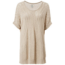 Buy Max Studio Pointelle Jumper, Heather Bone Online at johnlewis.com