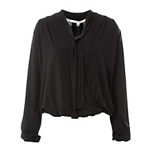 Buy Max Studio Tie Neck Jersey Top Online at johnlewis.com