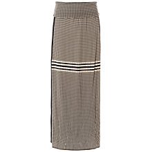 Buy Max Studio Jersey Maxi Skirt, Black/Beige Online at johnlewis.com