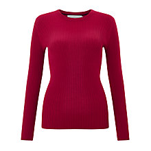 Buy John Lewis Skinny Rib Crew Neck Jumper Online at johnlewis.com