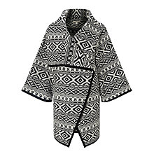 Buy Collection WEEKEND by John Lewis Blanket Weave Jacket, Black/Ivory Online at johnlewis.com