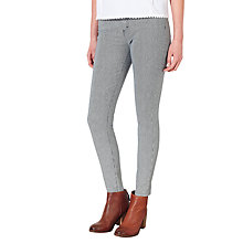 Buy Collection WEEKEND by John Lewis Needle Stripe Skinny Stretch Jeans, Blue/White Online at johnlewis.com
