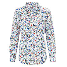 Buy John Lewis Lovebird Print Shirt, Multi Online at johnlewis.com