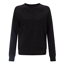 Buy Collection WEEKEND by John Lewis Lace Front Sweatshirt Online at johnlewis.com