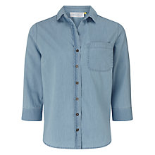 Buy Collection WEEKEND by John Lewis Florence Easy Fit Shirt, Light Blue Online at johnlewis.com