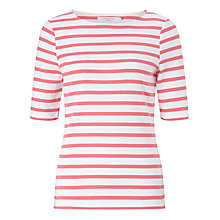 Buy John Lewis Breton Stripe Half Sleeve T-Shirt Online at johnlewis.com