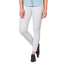 Buy Collection WEEKEND by John Lewis Iris Stretch Skinny Jeans, White Online at johnlewis.com