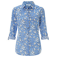 Buy John Lewis Linear Flower Print Shirt Online at johnlewis.com