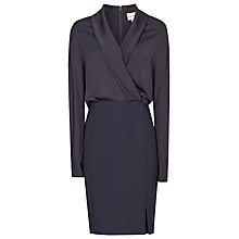 Buy Reiss Sydney Wrap Dress, Night Navy Online at johnlewis.com