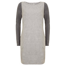 Buy Mint Velvet Pinafore Dress, Grey Online at johnlewis.com