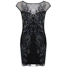 Buy Miss Selfridge Leafy Bodycon Dress Online at johnlewis.com