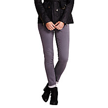 Buy Mint Velvet Odessa Jeans, Grey Online at johnlewis.com