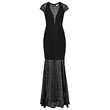 Buy Reiss Tami Maxi Dress, Black Online at johnlewis.com
