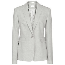 Buy Reiss Punto Single Breasted Blazer, Dove Grey Melange Online at johnlewis.com