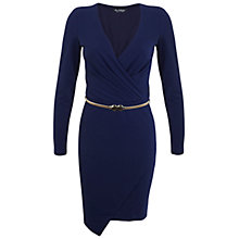 Buy Miss Selfridge Asymmetric Wrap Dress Online at johnlewis.com