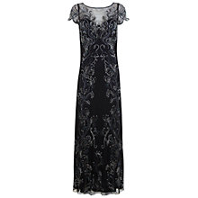 Buy Miss Selfridge Leafy Maxi Dress, Assorted Online at johnlewis.com