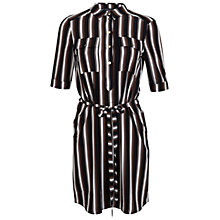 Buy Miss Selfridge Stripe Shirt Dress, Multi Online at johnlewis.com