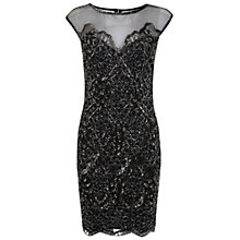 Buy Miss Selfridge Lacey Bodycon Dress, Multi Online at johnlewis.com