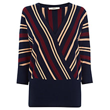 Buy Oasis Briony Stripe Jumper, Multi Online at johnlewis.com