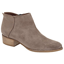 Buy Collection WEEKEND by John Lewis Paars Block Heeled Ankle Boots Online at johnlewis.com