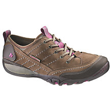 Buy Merrell Mimosa Lace Walking Shoes, Stone Online at johnlewis.com