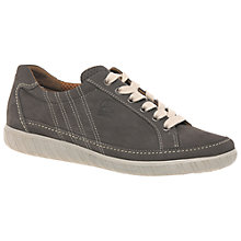 Buy Gabor Amulet Wide Fitting Lace Up Flat Heeled Trainers Online at johnlewis.com
