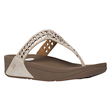 Buy FitFlop Carmel Toe Post Sandals Online at johnlewis.com