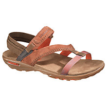 Buy Merrell Mimosa Mace Sandals, Kangaroo Suede Online at johnlewis.com