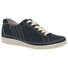 Buy Gabor Amulet Wide Fitting Lace Up Flat Trainers Online at johnlewis.com
