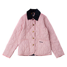 Buy Barbour Girls' Herterton Quilt Jacket Online at johnlewis.com