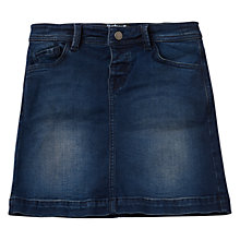 Buy Barbour International Girls' Delter Denim Skirt, Blue Online at johnlewis.com