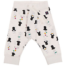 Buy Polarn O. Pyret Baby Magic Trousers, White Online at johnlewis.com